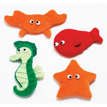Marine Animals, Age 6 Mths+, Set of 4