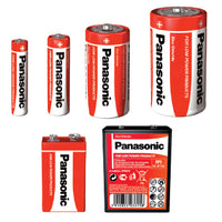 Batteries, (D) R20R 1.5 volts, Pack of 2