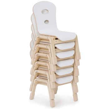 Alps Series, Plywood Chair, Set of 4