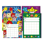 A6 Progress Charts, Pack of 40