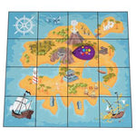 Robot Play Mats, Treasure, 125mm Robots, Each