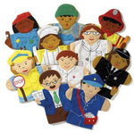 Glove Puppets, Careers, Set of 10