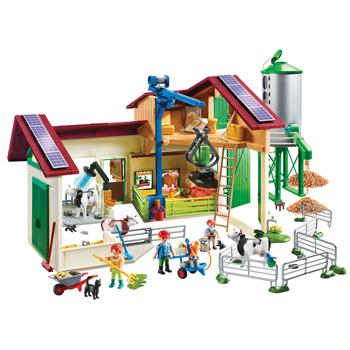 Playmobil Farm With Animals, Set