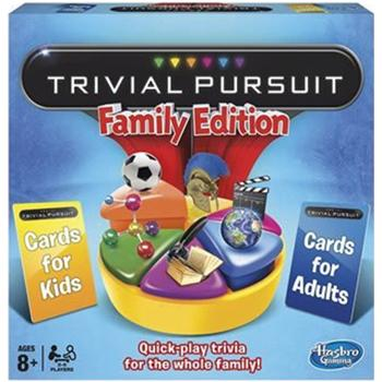 Trivial Pursuit, Age 8+, Each