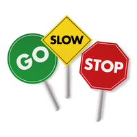 Role Play, Traffic Signs, Set of 3