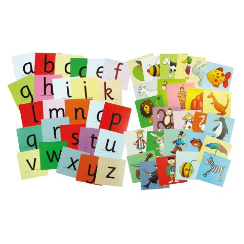 Initial Sounds Picture Cards, Age 3+, Set