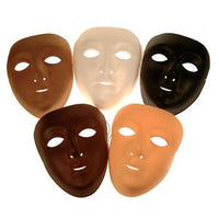 Face Masks, Multicultural, Set of 10