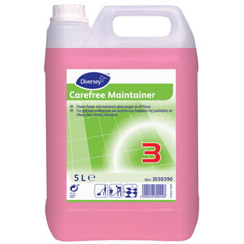 Floorcare, Maintainers, Carefree Maintainer, Diversey, Case of 2 x 5 Litres