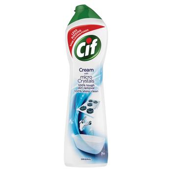 House Hygiene, Cif Cream Cleaner, Case of 8 x 500ml