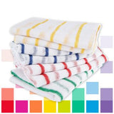 Smartbuy, Striped Dishcloths, Pack of 10