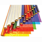 Metallic Foil Rolls, Cellophane Rolls Assorted, Pack of 24 Rolls