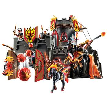 Playmobil Flamerock Fortress, Set