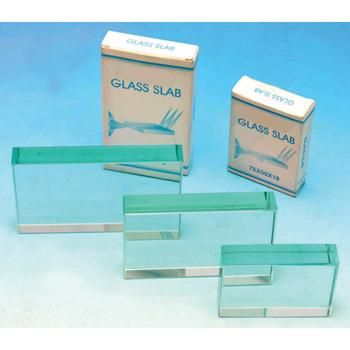 Prisms, Clear Glass, Rectangular, Each