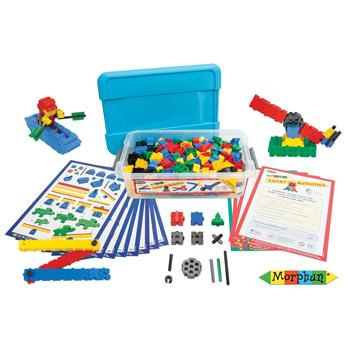 Morphun, Levers Set, Age 4-8, Set of 215 Pieces