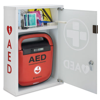 AED Alarmed Wall Cabinet, Each