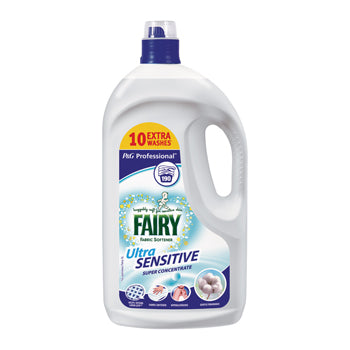 Fairy Professional Washing, Fairy Ultra Sensitive Fabric Softener, Procter&Gamble, 190 Wash Pack