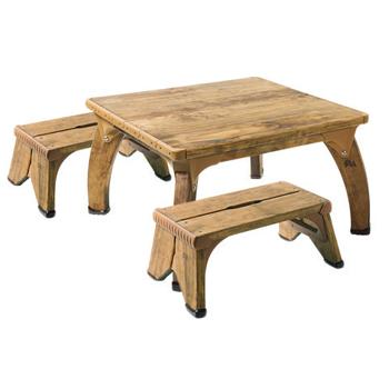 Outlast, Square Outlast Play Table Sets, Square