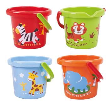 Animal Bucket Set, Set of 4
