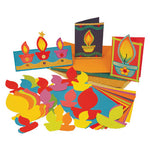 Diwali Card Making Kit, Pack of 30