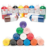 Paint, Ready Mixed Washable, Standard Brights, 500ml