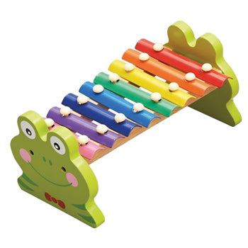 Wooden Frog Xylophone, Age 12+ Months, Each