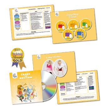 Music Activity Packs, Chase The Rhythm, Set