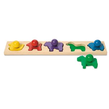 Animal Shapes Board, Age 18 Months+, Set