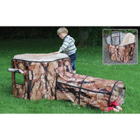 Indoor & Outdoor Play Range, Natural Tree House & Tunnel, Den Cover and Stand, Age 0+, Each