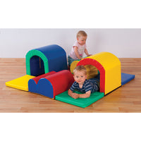 Play Equipment, Toddler Tunnels & Bumps, Age 0-2, Set of 9