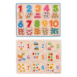 Number Matching Puzzle Set, Set