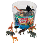Toy Animals, Jungle Animal Counters, Ages 3+, Set of 60