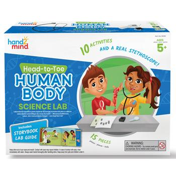 Head To Toe Human Body Science Lab, +5, Kit