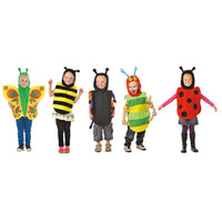 Dressing Up, Tabards, Mini Beasts, Set of 5
