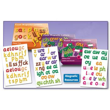 Smart Phonics, Magnetic Letters, Phase 2, Set of 43
