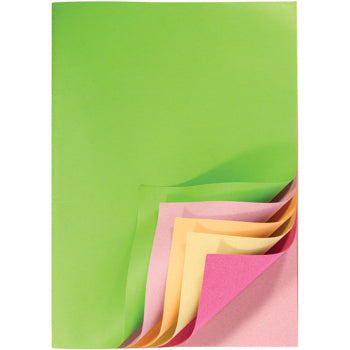 Scrap Books, Assorted Pastel Pages, Pack of 50