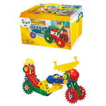 Junior Engineer Sets, Magic Gears, Age 2+, Set of 110 Pieces