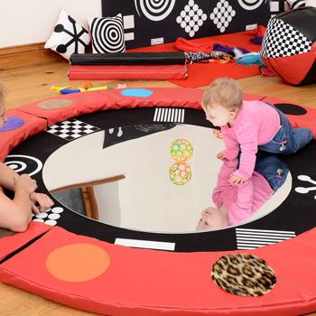 Sensory Mats and Mirror Bundle Deal, Each