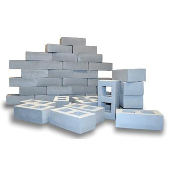 Foam Breeze Blocks, Set of 20