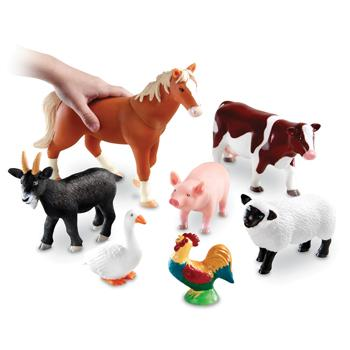 Jumbo Animals, Farm, Age 2+, Set