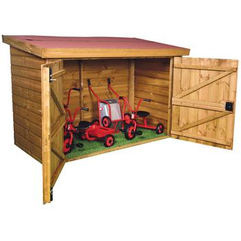 Playhouses, Trike Storage Shed, Each