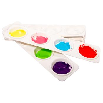 4 Well Palette, Pack of 10