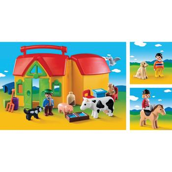 Playmobil(R) 1.2.3 Range, Farm Bundle, Set