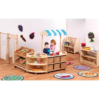 Playscapes(TM)  Role Play Zone, Bundle Deal, With Baskets