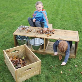 Discovery Bench & Crates, Each