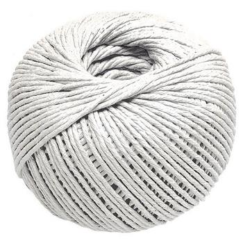 String, Cotton Twine, Thick, No 2 Ball, 4Mm Dia., 500g