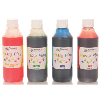 Food Colouring Set, Set of 4