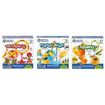 Stem Challenge Games, Set of 3