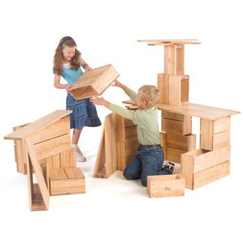 Children's, Hollow Blocks, Preschool Set (B552)