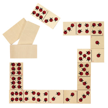 Games, Fun Learning, Ladybird Dominoes, Set