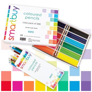 Colouring Pencils, Budget Pack